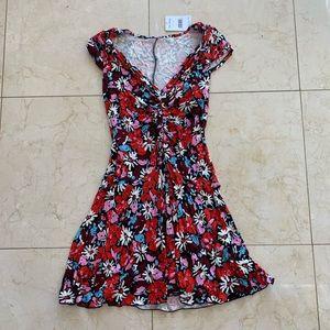 Free People NWT $98 Floral Dress Sz Medium